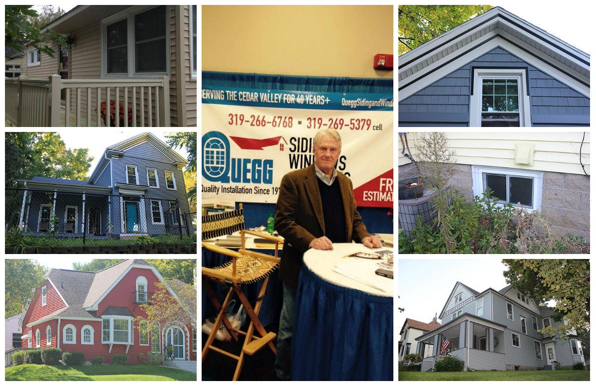 Quegg Siding, Windows & Roofing Collage