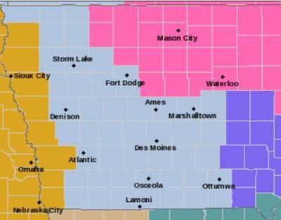 Winter storm map