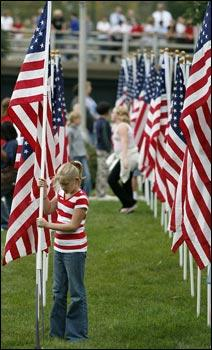Flags fly at Healing Field | News | wcfcourier com