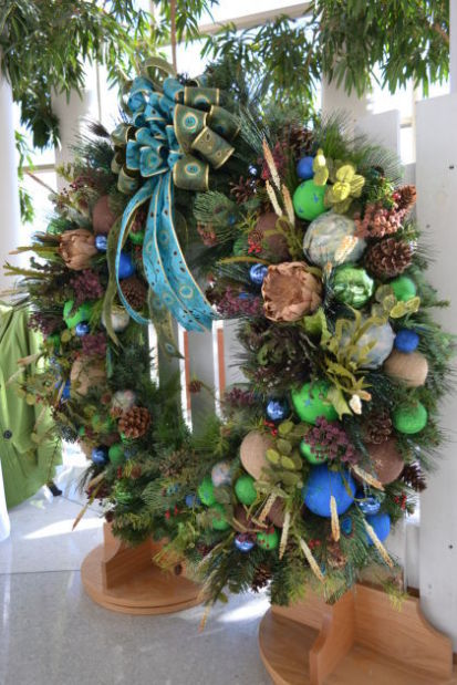 festival of trees wreath