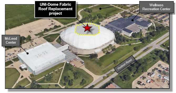 UNI-Dome roof graphic