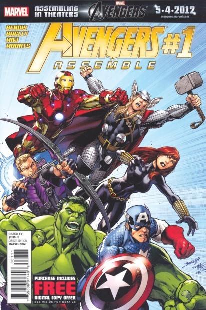 'Avenger' comic