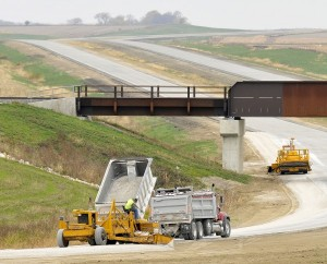 highway 20 completion in western iowa 68 miles and counting local