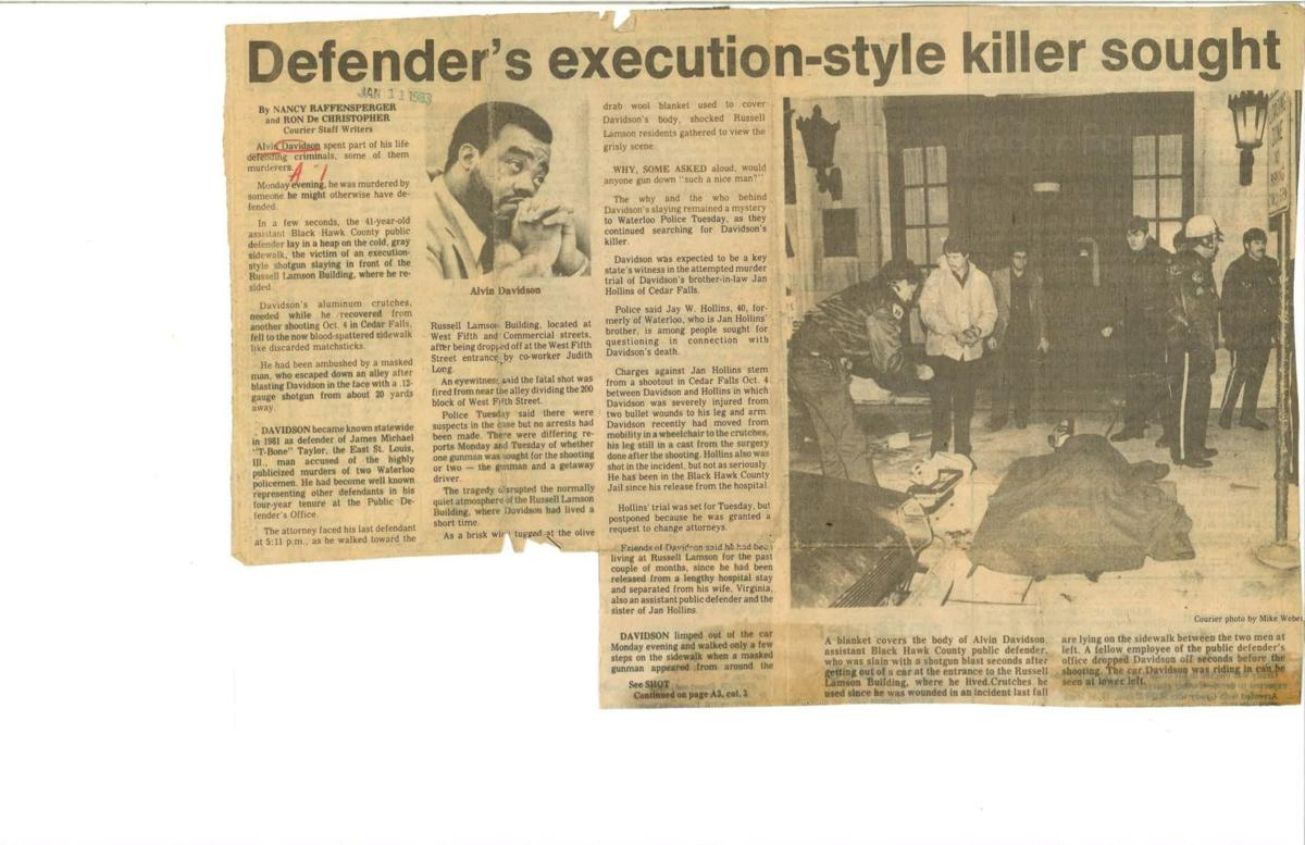 Courier Front Page Jan. 11, 1983