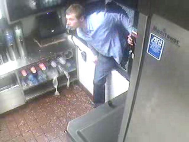 CF McDonald's robbed