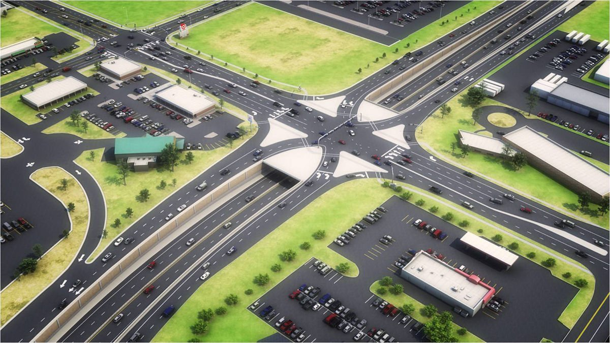 Repair work interchanges at the intersection of the Moscow Ring Road and Ryazan Avenue will be held on a competitive basis until September 66