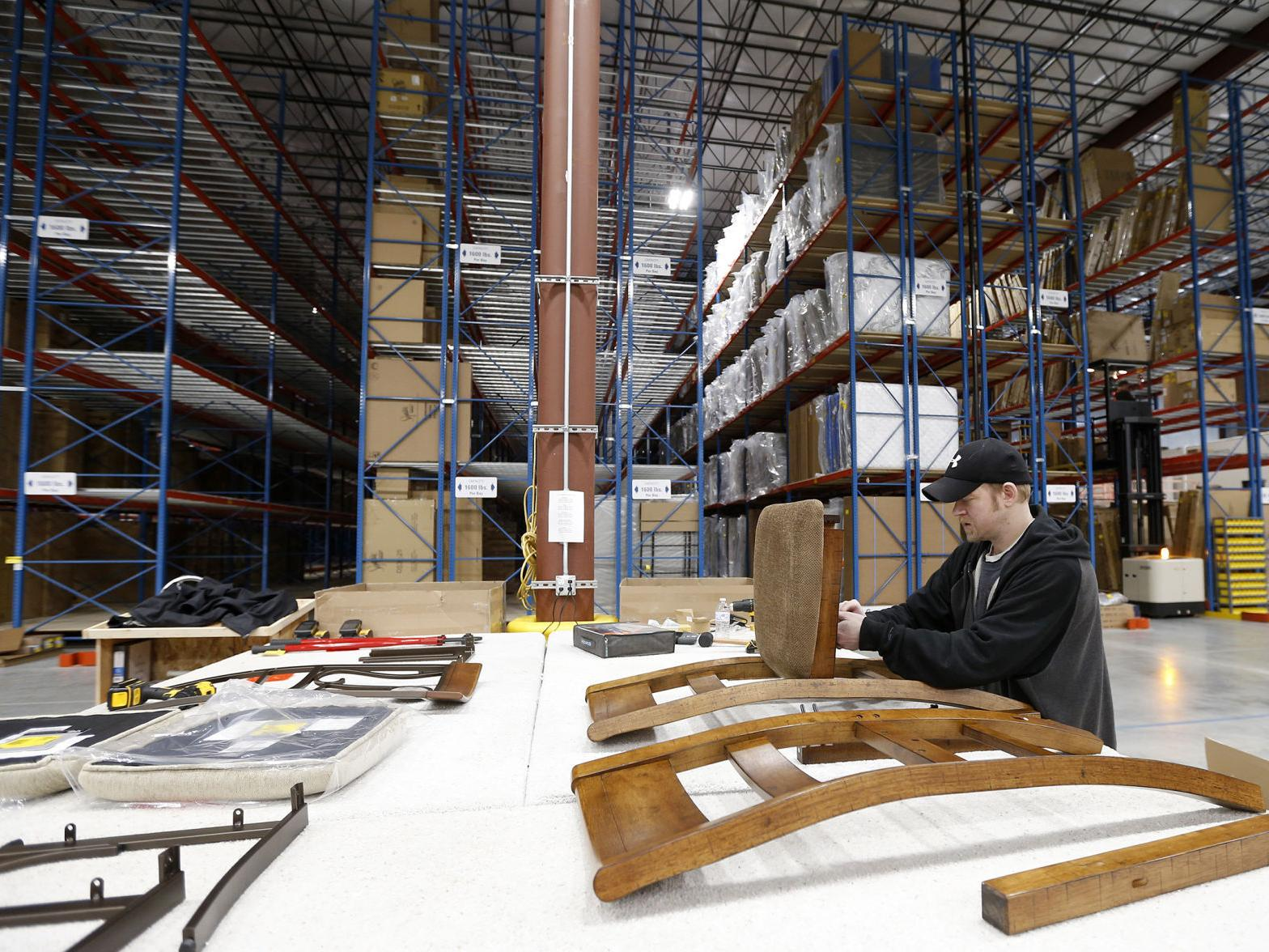 PHOTOS: Ashley Furniture warehouse opens in Cedar Falls  Business