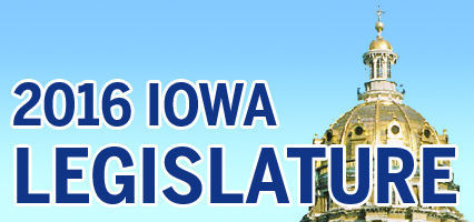 2016 Iowa legislature logo