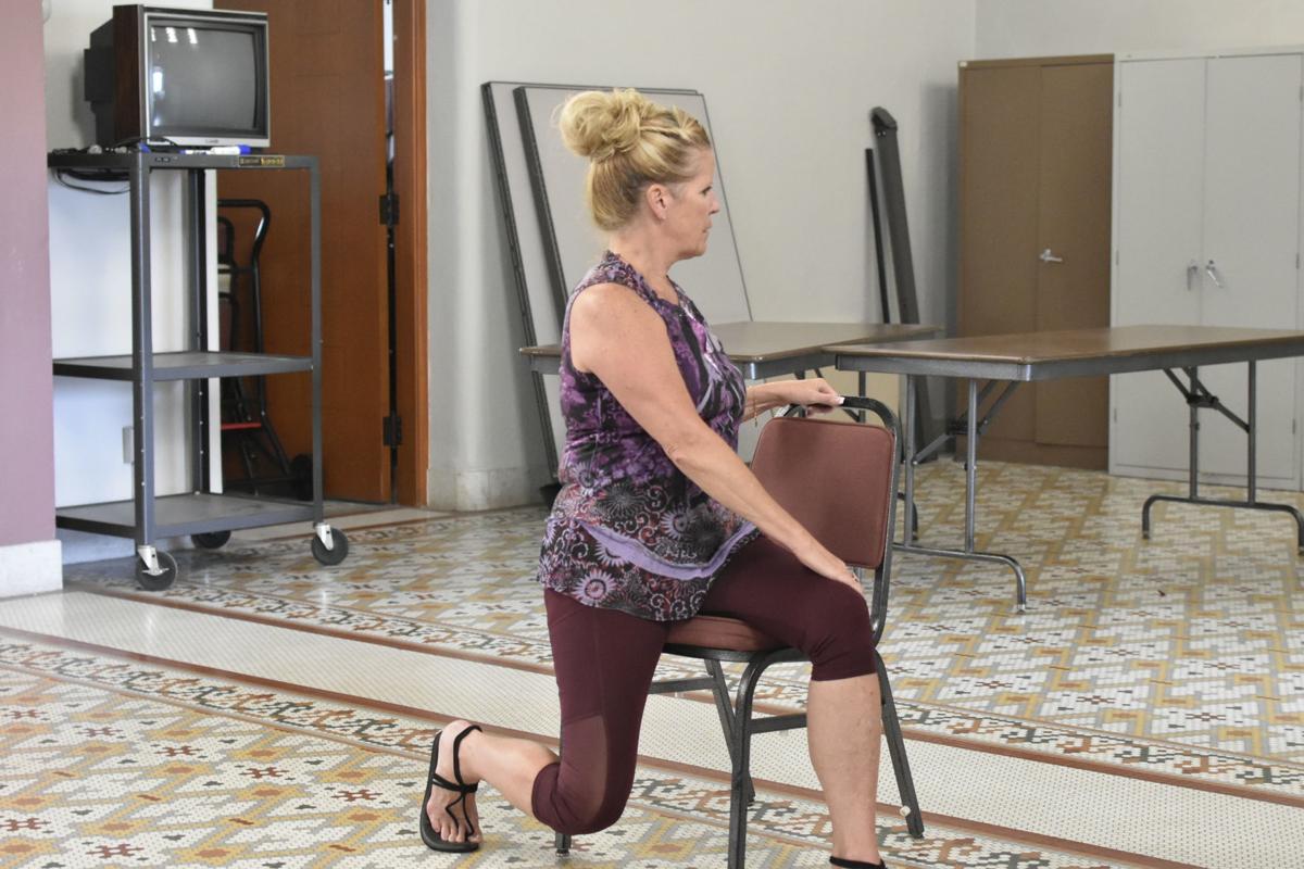 Veteran yoga