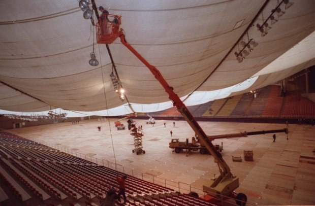 Uni Dome Had Its Own Collapse In 94 Local News