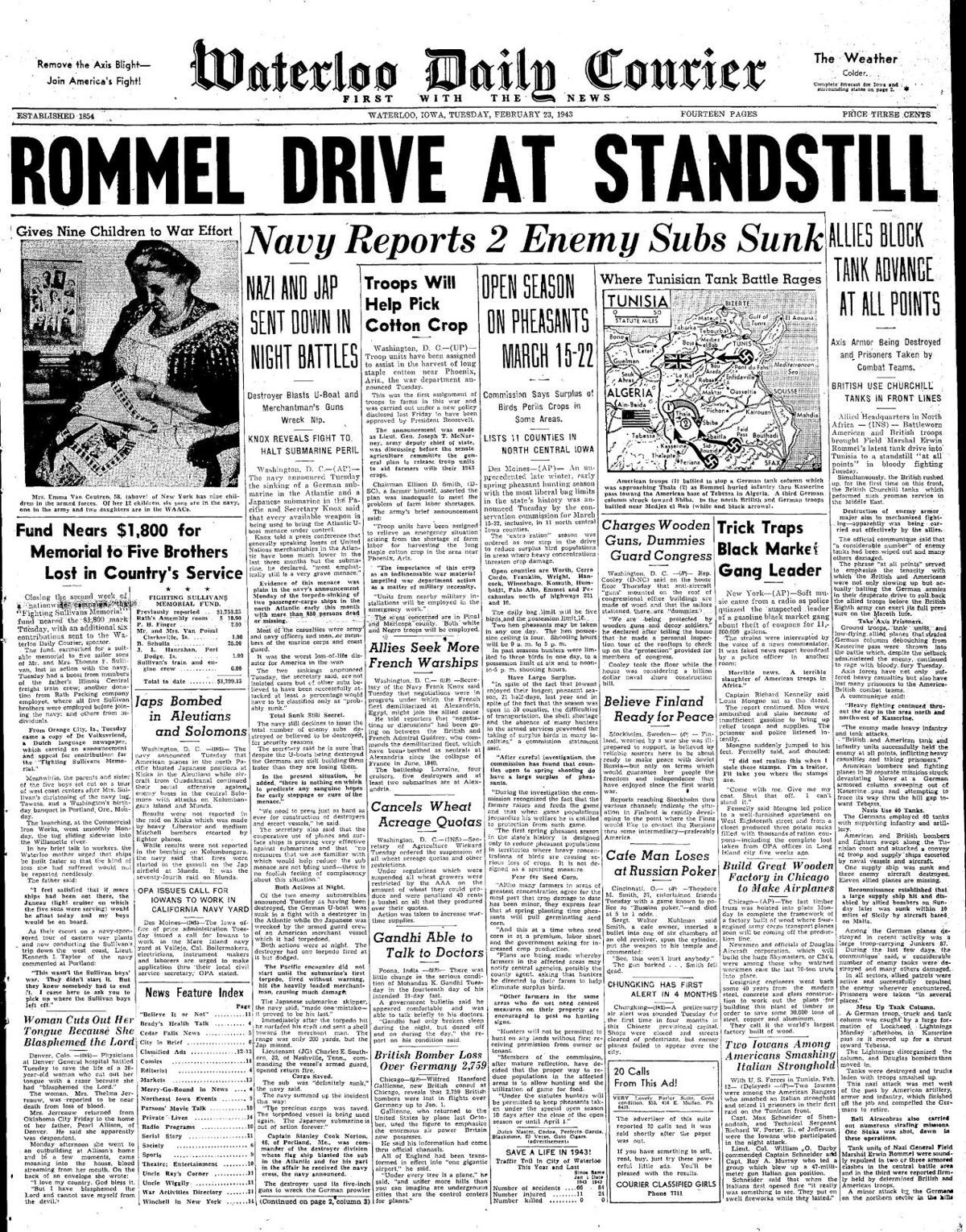 Courier Feb. 23, 1943