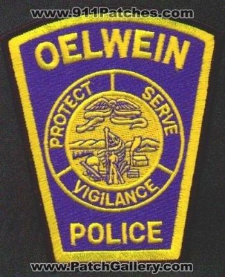 oelwein police department patch