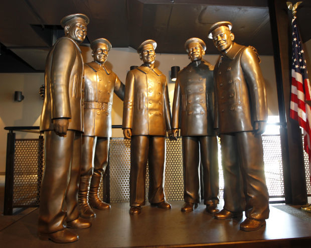 Sullivan Brothers Museum statues