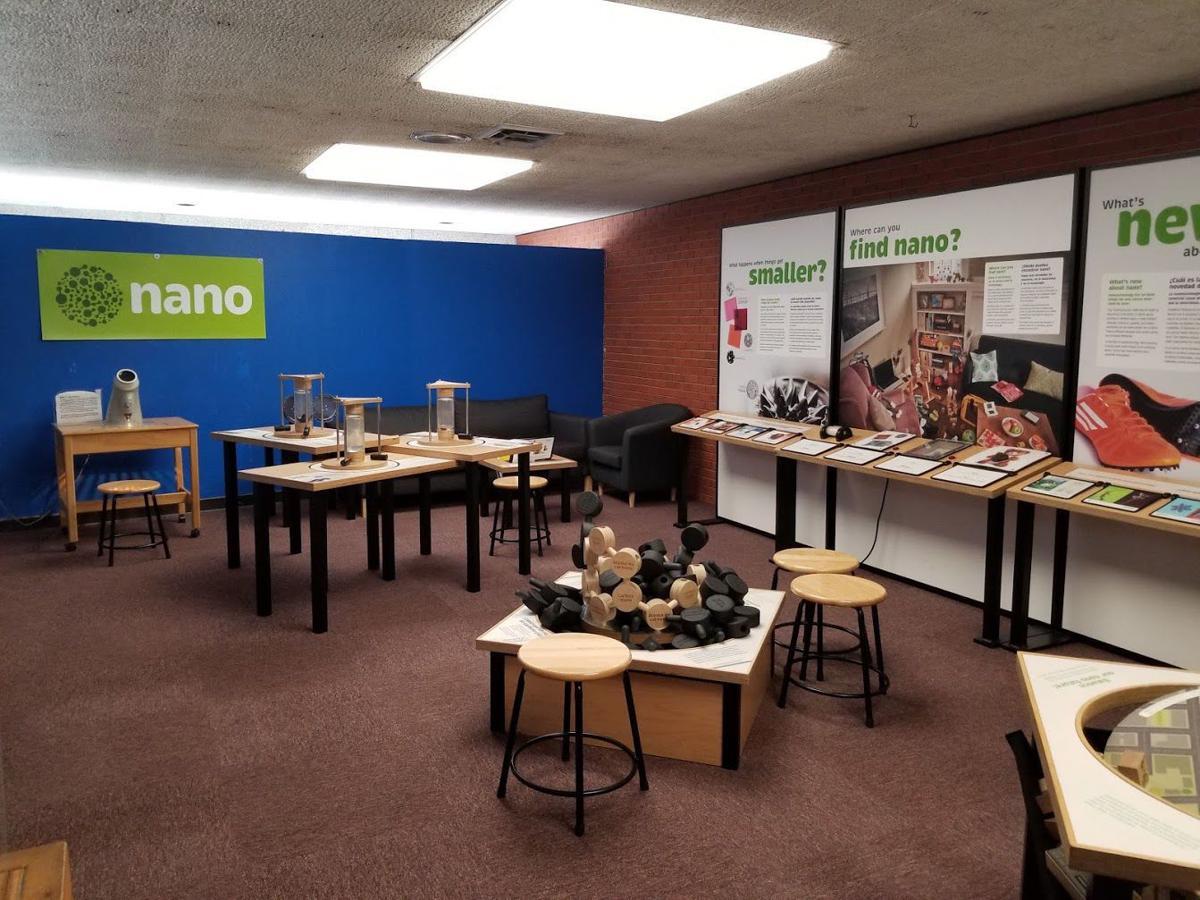 Nano exhibit at Bluedorn Science Imaginarium