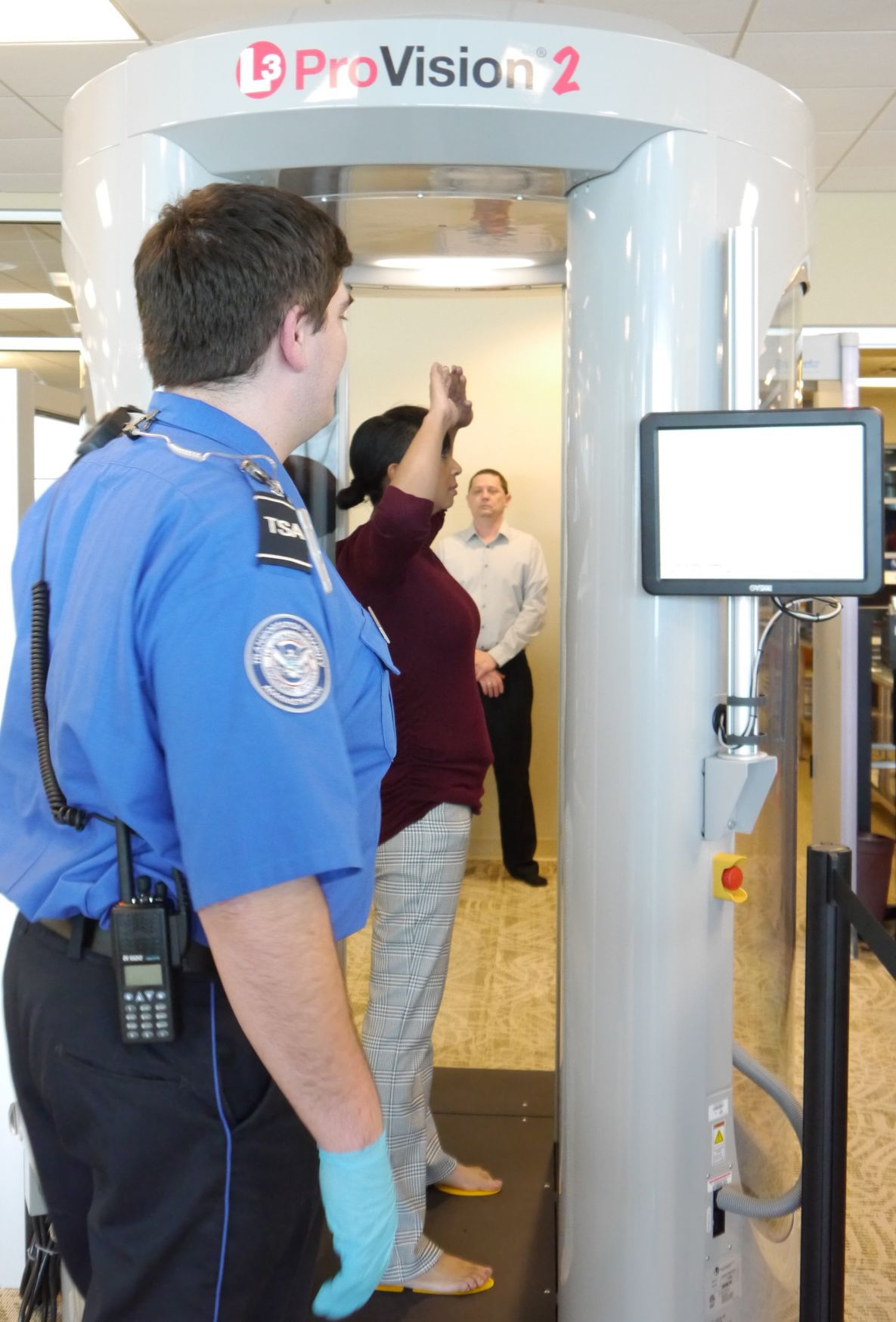 TSA imaging unit 1