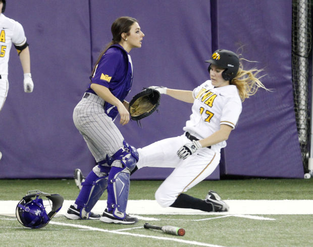 Softball in the UNI-dome