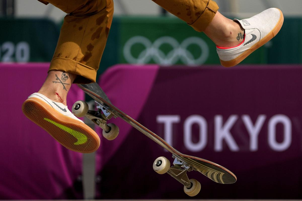 APTOPIX Tokyo Olympics Skateboarding