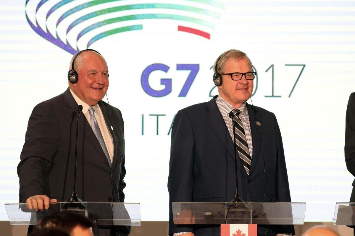Italy G7 Agriculture