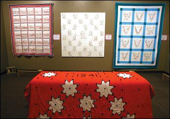 Quilt historian tells homefront story with World War II quilts