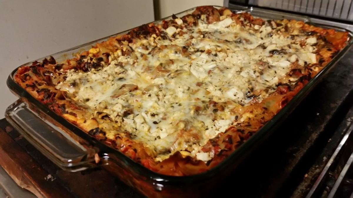 Spinach and artichoke lasagna 2