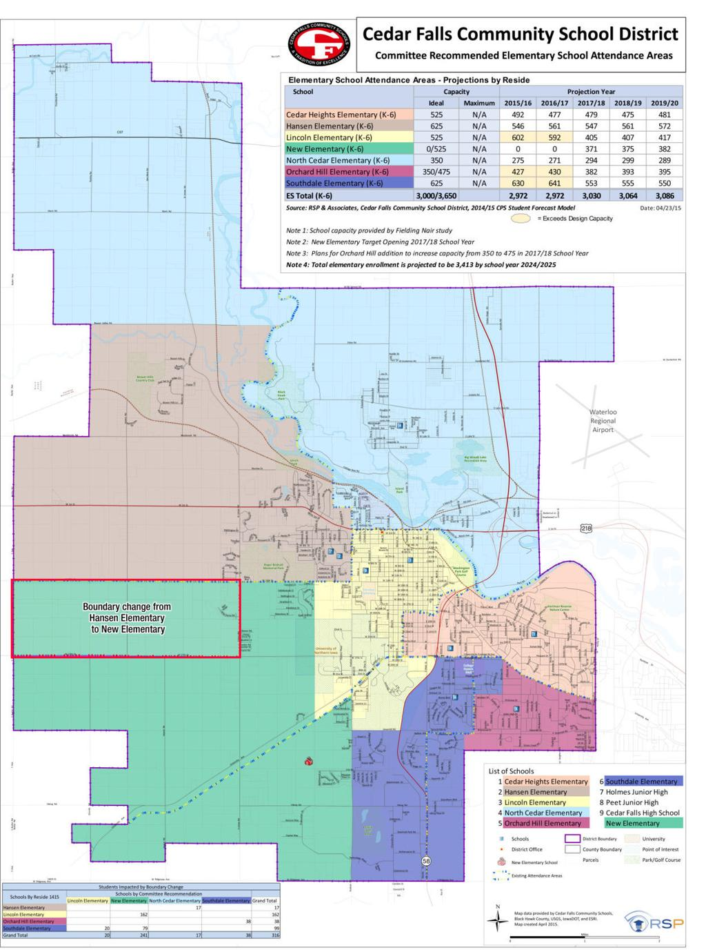 Boundary line committee finalizes recommendation for Cedar