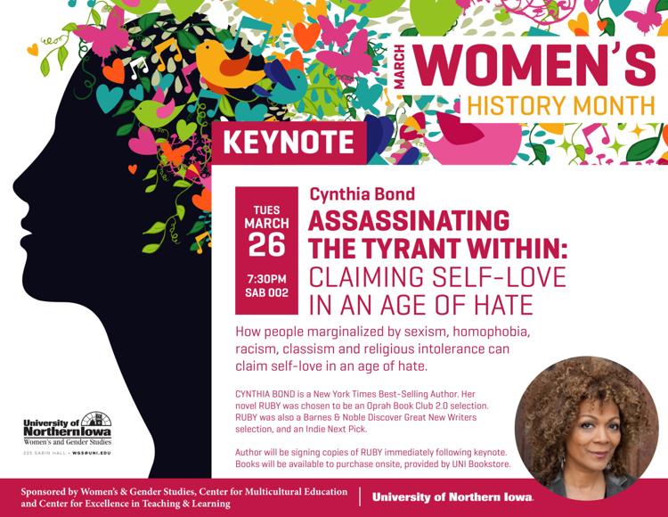 Women's History Month Keynote Flyer
