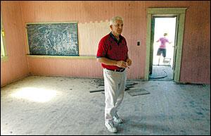 saving windsor no 1 effort to restore one room school begins