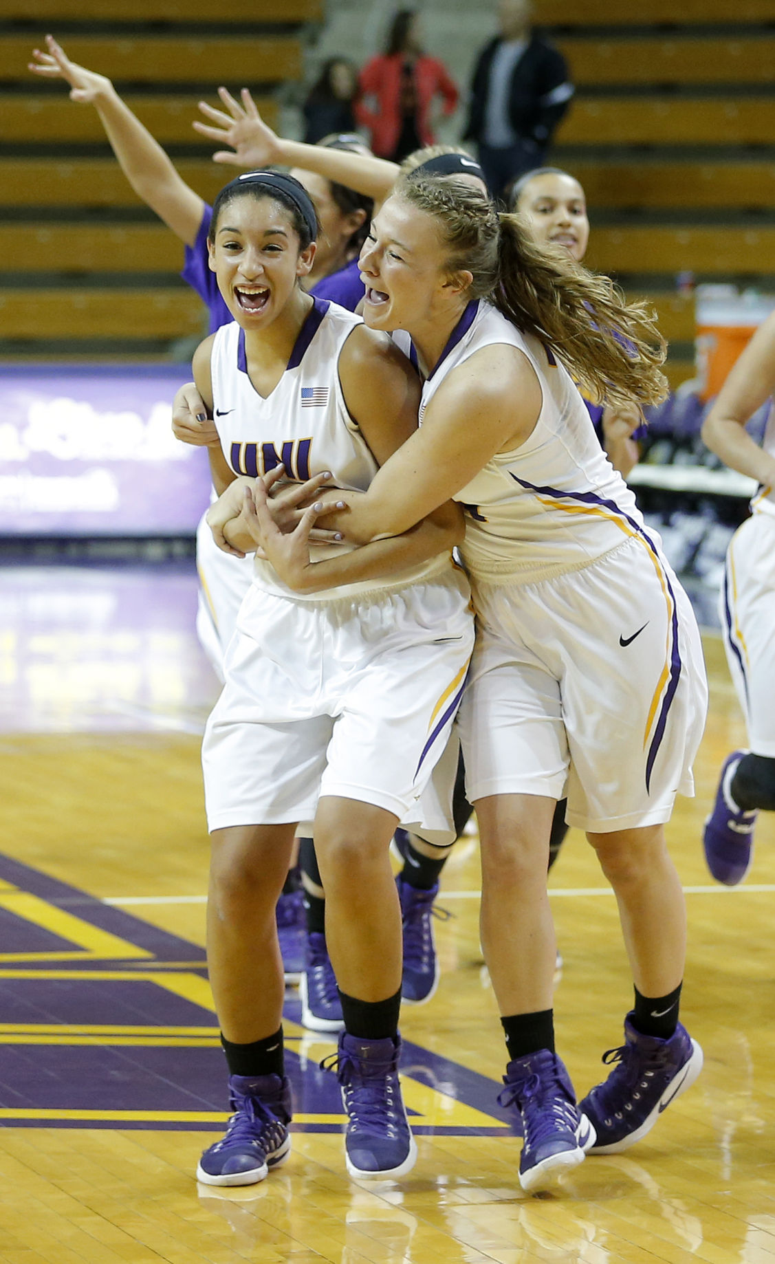 Basketball Porn college women's basketball: uni earns first at-large ncaa