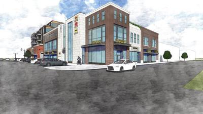 Proposed downtown apartment