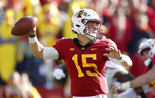 Safety, Butler TD push Iowa State past Texas Tech 40-31