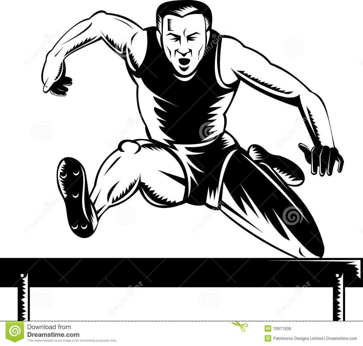 Track and field clip art