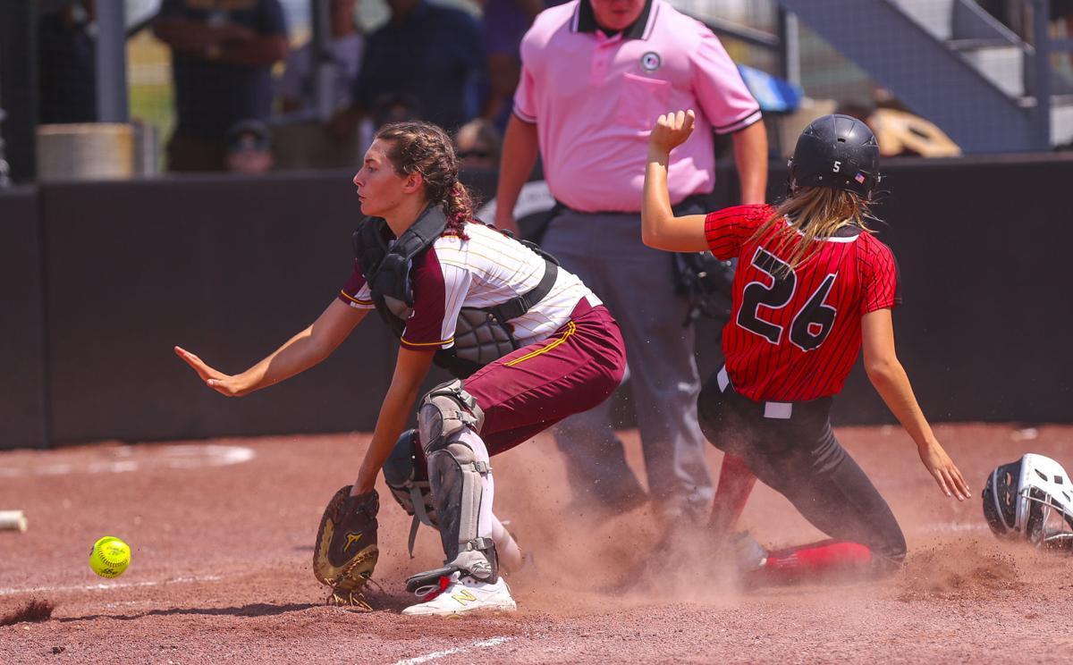 State Softball Clarksville Monday 2