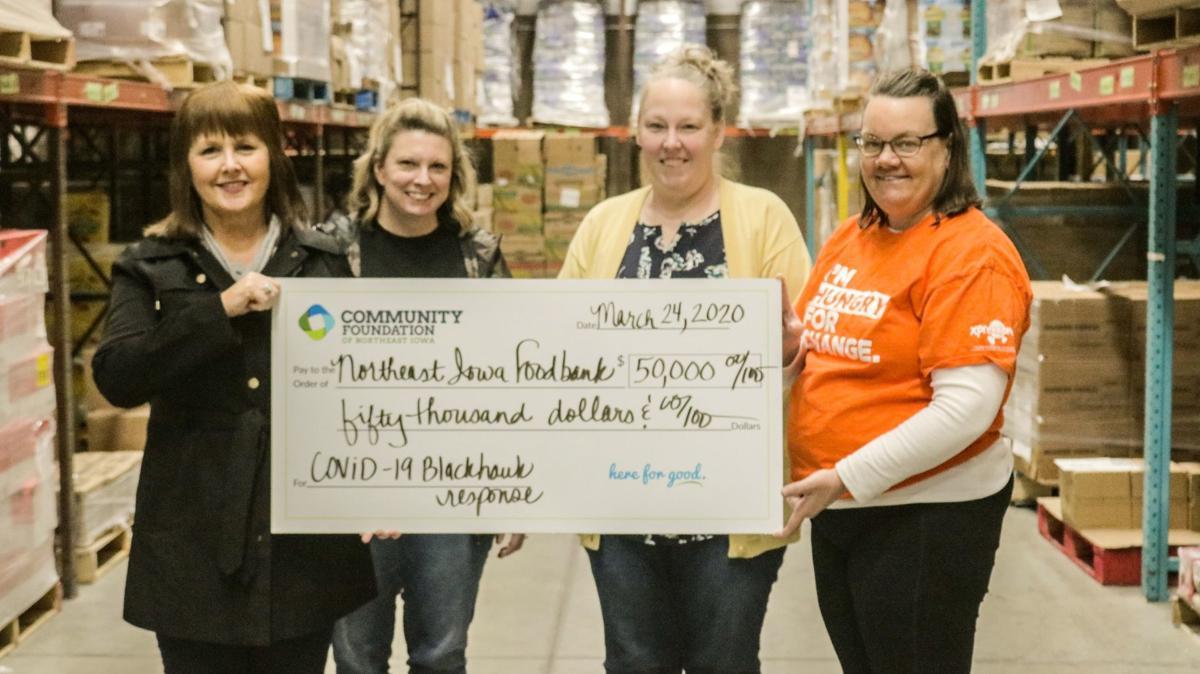 COVID-19 grant to Northeast Iowa Food Bank