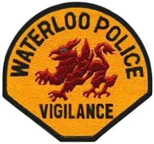 clip art Waterloo Police logo