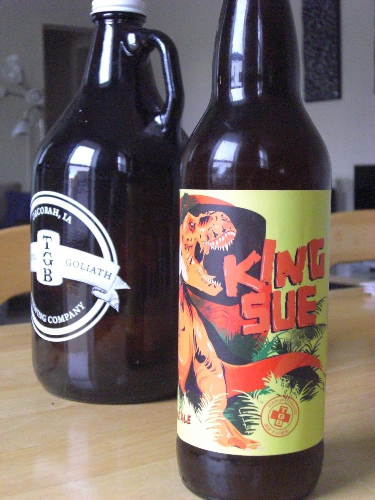King Sue - Toppling Goliath