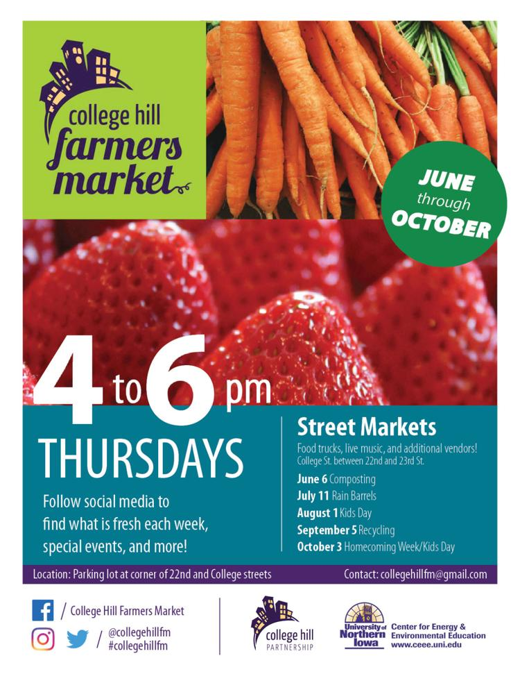 Postcard for College Hill Farmers Market