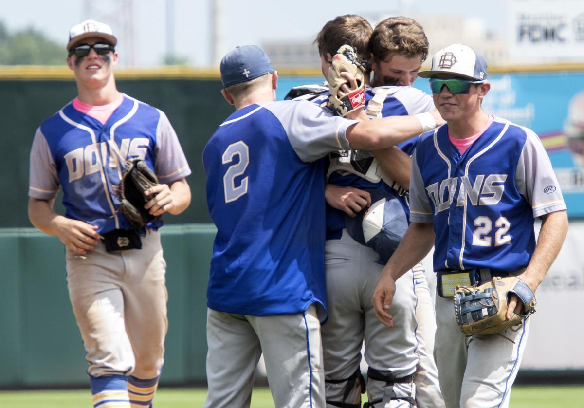 Kingsley-Pierson vs Don Bosco 1A state baseball