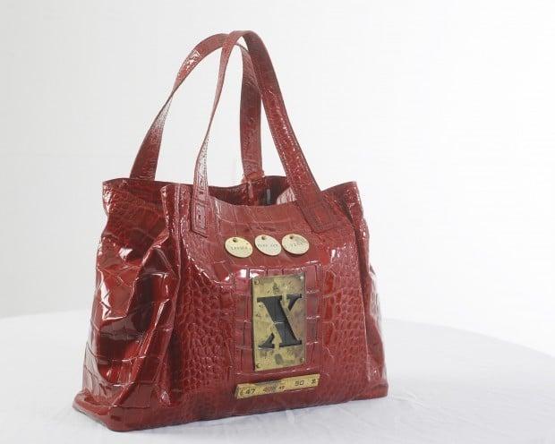 65eca77a5c523 Bag one! Artists transform handbags into art for online women s showcase