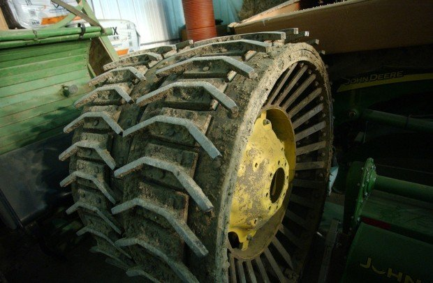 Steel Wheel Tractor : Culture clash mennonites battle mitchell county steel