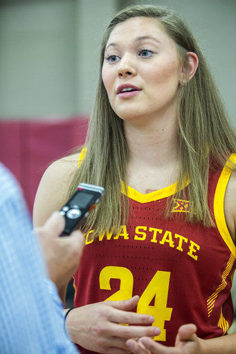 Iowa State eager for freshman Joens brings to court