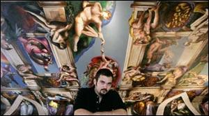Paco Rosic's Sistine Chapel recreation garners worldwide notice