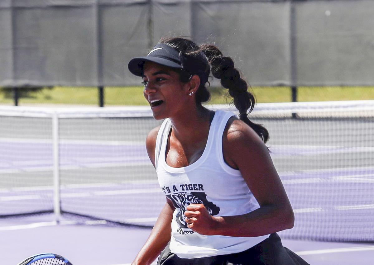 Cedar Falls 2A state tennis celebration