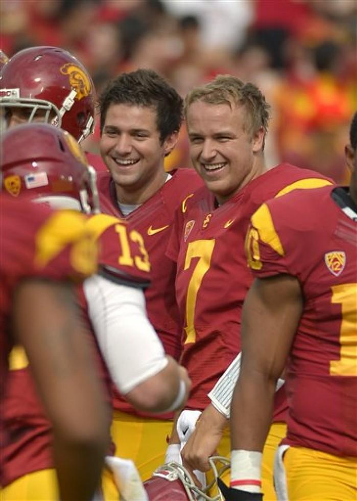 Matt Barkley believes No. 10 USC is on a roll | Football ...