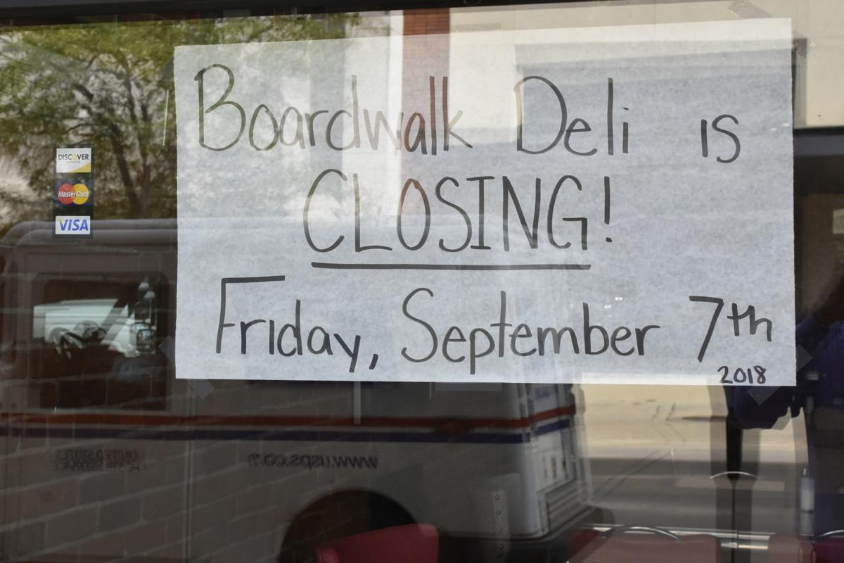 Boardwalk Deli Closing