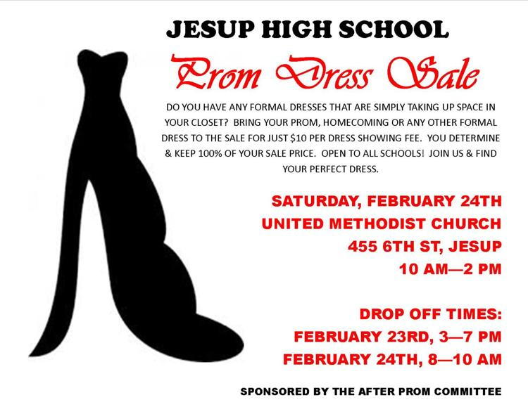 Prom Dress Sale Flyer