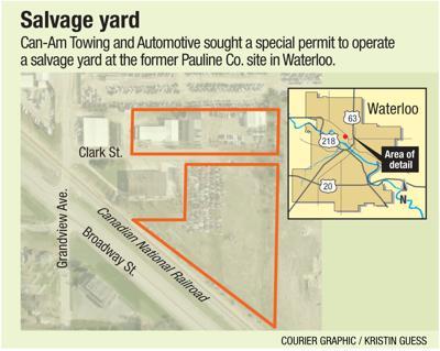 Waterloo board denies salvage yard permit | Political News
