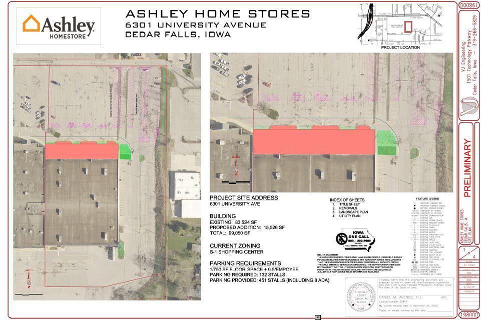 Ashley Homestore Will Renovate Cedar Falls Younkers Site Political
