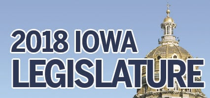 Iowa Legislature 2018 Logo