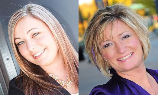 Whitney Kohlmeyer and Jennifer Worrell