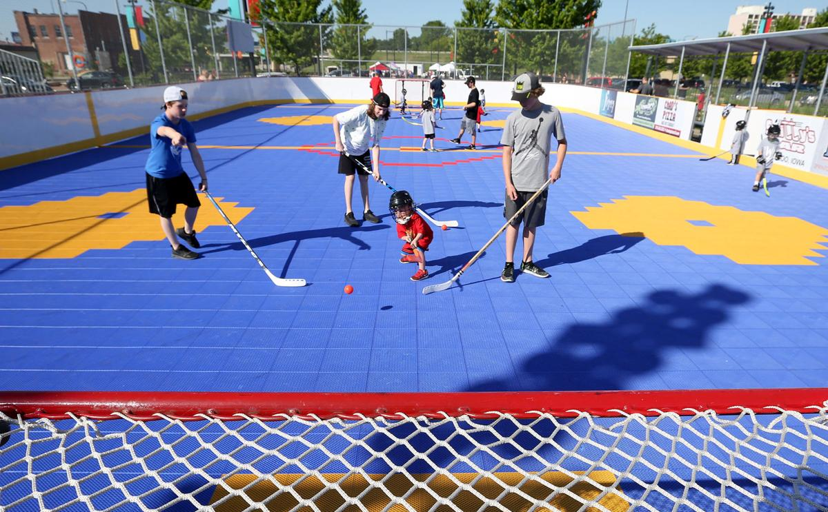 Dek hockey catching on in downtown Waterloo | Local News